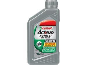 Castrol 6402 Act-Evo X-Tra 4T Off Road Synthetic Blend 10W-40 1Qt