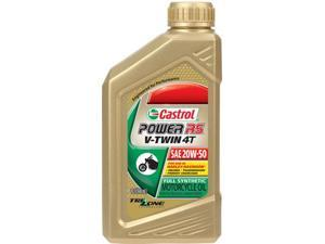 Castrol 6080 Power Rs V-Twin 4T Synthetic Oil 20W-50 1Qt
