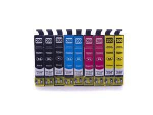 Epson 200 Ink T2001XL 2002XL 2003XL 2004XL Compatible Ink Cartridge - T200XL120 T200XL220 T200XL320 T200XL420 (3 Black, 2 Cyan, 2 Magenta, 2 Yellow)