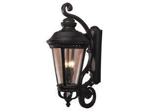Feiss Castle 4-Light Wall Lantern in Black - OL1905BK