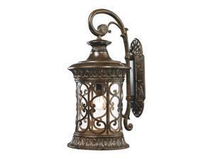 Elk Lighting Orlean Collection 1 Light Outdoor Sconce, Hazelnut Bronze - 45082-1