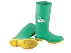"Onguard Industries Size 12 Hazmax Green 16"" PVC Knee Boots With Ultragrip Sipe Outsole, Steel Toe And Removable Insole"