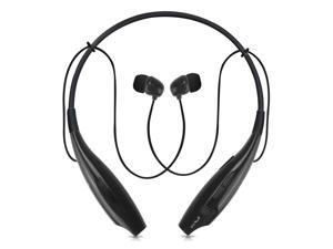 Universal Wireless Bluetooth Headphone Sport Stereo Headset Earphone Handfree-Black