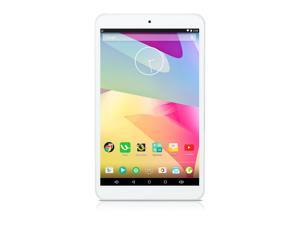 "iRULU Google Android 5.1 Lollipop 8"" Tablet PC, Quad Core, IPS Multi-touch Screen, 1280*800 Resolution, 16GB Nand Flash - White"