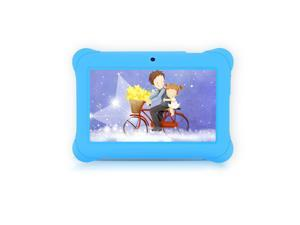 iRULU 7-Inch Quad Core Kids Tablet - GMS Certified by Google, Android 4.4 Kitkat, 1024*600 HD Resolution, 1GB RAM 8GB Nand Flash - Blue