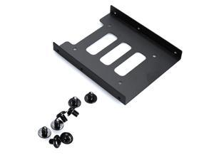 2.5 inch SSD HDD To 3.5 inch Metal Mounting Adapter Bracket Dock for SSD