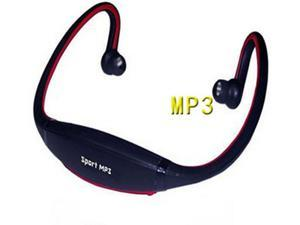 Sports MP3 wireless card headphones FM Earhook Neckband headset sport MP3