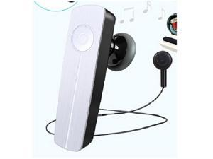 mini headphone wireless handsfree stereo Bluetooth 4.0 Headset Ear hook Earphone-white