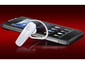 Headset music headphone wireless handsfree stereo Bluetooth Ear hook Earphone-white