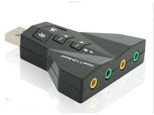 Professional computer soundcard 7.1 K song independent sound card notebook / desktop sound card / external USB sound card (sixian)