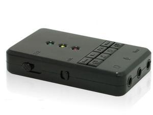 Sound with reverb USB2.0 USB external sound card drive free recordable four kinds of EQ sound support