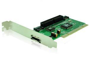 PCI to SATA PCI expansion card PCI to IDE pure transfer SATA + IDE VIA 6421 chip