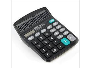 Right hand dual power 12 calculator big button 837es desktop computer
