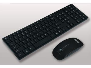 Arrival Ultrathin 2.4G Optical Wireless Keyboard + Mouse Suite For PC Laptop Mac
