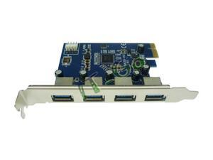 High quality 4 USB3.0 to PCI-express computer VIA PCIe expansion card riser