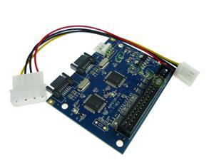 Quality IDE to Dual SATA Adapter SATA to IDE hard drive parallel to Dual Serial