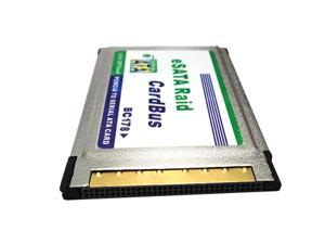 New AKE PCMCIA card PCMCIA generation 54MM RPM hard ESATA dual-port expansion card