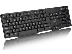 Factory direct sell wired keyboard for notebook and Desktop PC