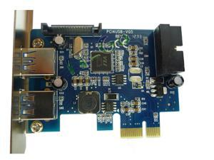 USB3.0 PCIe Card PCI-express 19-pin 20pin USB3.0 expansion card