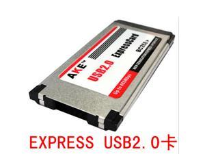 Free drive NEC chip EXPRESS USB 2.0 card notebook second generation single-port card