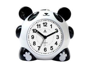 New Creative cute cartoon music alarm clock lazy panda silent alarm