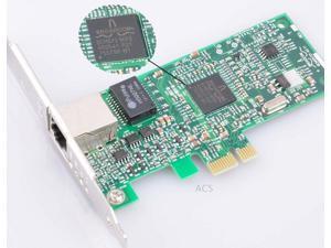 Broadcom NetXtreme BCM5721 Gigabit 10/100/1000M PCI-e Desktop Network Card NIC Free Low Profile