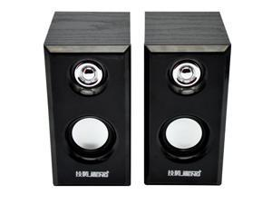 Wooden speaker usb mini speaker computer multimedia speakers (JT042)