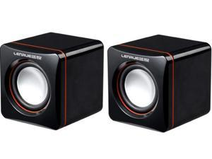 USB Acoustics System, Powered by USB, for Laptops and Desktops, Cube Speakers, Gemini Doctor