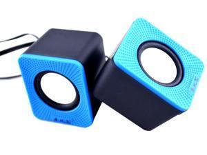 USB Powered Stereo Computer Speaker - Multimedia Speaker with Enhanced Drivers