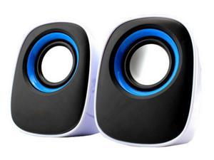 3.5mm Mini Computer Speakers, Powered by USB (Q)