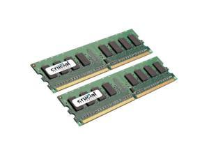 Crucial 2GB Kit 2 x 1GB DDR2 800MHz PC2-6400 Non ECC 1.8V Desktop Memory for desktop computers RAM 800 Shipping From US