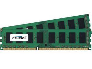 New Crucial 8GB Kit 2x 4GB DDR3 1600 MHz PC3-12800 Desktop Memory Modules RAM uDimm