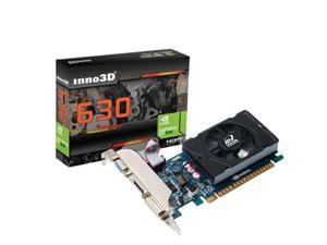 New NVIDIA Geforce GT 630 2GB PCI Express x16 128 bit Video Card HMDI Low Profile