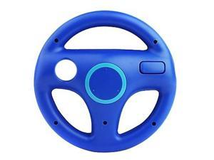 New Steering Wheel for Wii Mario Kart Racing Game Remote Controller Blue New