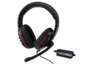 New USB Wired Gaming Headset Headphone with Mic for Game Player PS4/PS3/PC/XBOX 360