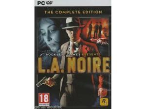 L.A. NOIRE THE COMPLETE EDITION (PC DVD) SEALED