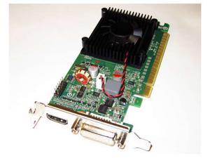NVIDIA GeForce 8400 GS 1GB Single Slot PCI Express PCI-E x16 DVI+HDMI+VGA Video Graphics Card