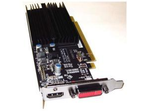 ATI Radeon HD 5450 1GB PCI-E 2.1x16 HDMI+DVI Low Profile Dual Monitor Display View Video Graphics Card