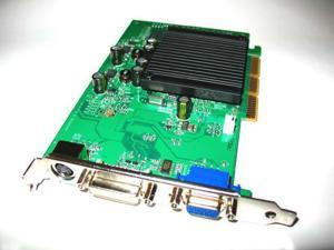 512MB nVIDIA GeForce AGP 4X 8X Dual Monitor Display View Single Slot Video Graphics VGA Card shipping from US
