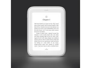 NEW* Barnes & Noble Nook Simple Touch with GlowLight White WiFi 6'' 2013 Model