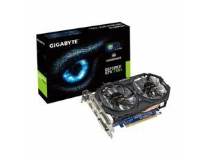 HOT New GIGABYTE Video Card NVIDIA GeForce GTX 750 Ti OC 2GB GDDR5 2DVI/2HDMI PCI-Express