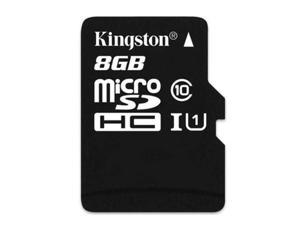 Kingston TF 8GB Class 10 micro SD SDHC Memory Flash Card with Mini M2 USB2.0 - Pack of 10