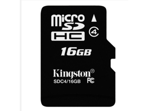 1 pack 16GB  16G Original Kingston microSDHC Card Class 4 TF C4 Flash Memory Card for mobile phones, smartphones, tablets and other portable devices