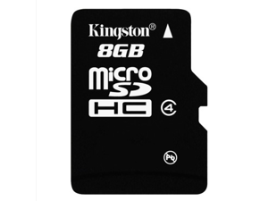 1 pack 8GB  8G Original Kingston microSDHC Card Class 4 TF C4 Flash Memory Card for mobile phones, smartphones, tablets and other portable devices