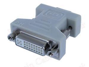 New  DVI-I Female Analog(24+5) to VGA Male(15-pin) Connector Adapter Buy 2 Get 1 Free