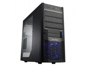 Cooler Master Mid Tower Computer Case Gaming PC Steel blue LED Gamer Custom 1337