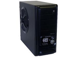 Pixxo Gaming ATX Mid Tower Computer Case CG-74A4, w/ Front USB and&#59; Audio.