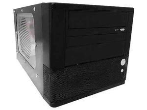 Black Ark Mini-ITX Case, w/ 300W Power Supply and 80mm Blue LED Fan, PI-01 -- Computer Case