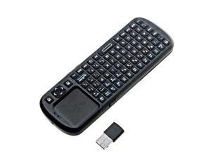 Good Quality 2.4G RF Wireless iPazzPort Handheld Keyboard Touchpad with Smart TV/PC Remote