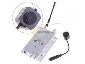 Wireless 1.2Ghz Color Surveillance CMOS Camera Monitor